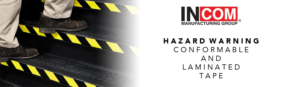 Hazard Warning, Laminated Tape, Conformable Tape, Hazard Tape, Warning Tape, Striped Tape