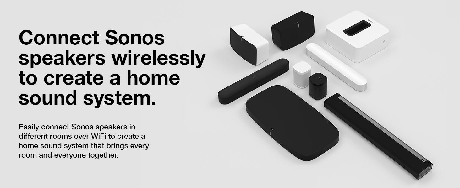Sonos BM1WMWW1BLK Wall Mount For All-new Sonos Beam Sound Bar– Easy To  Install Speaker Wallmount Kit, Black | BM1WMWW1BLK