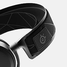 SteelSeries Arctis 7, Gaming Headset, verlustfreies und drahtloses