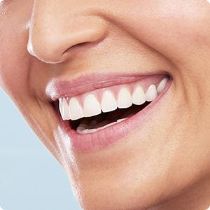 Wittere tanden vanaf de eerste dag
