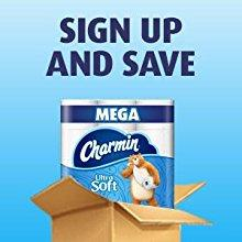 Sign up and save, toilet paper bulk, toilet paper subscribe and save, toilet paper subscription