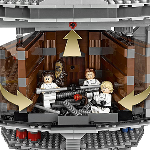 Lego Star Wars Death Star A ver si puedes encontrar al Dianoga