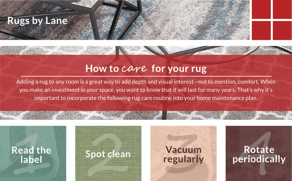 how to care for your rug