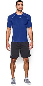 T-shirt Compression UA HeatGear Armour à manches courtes pour homme