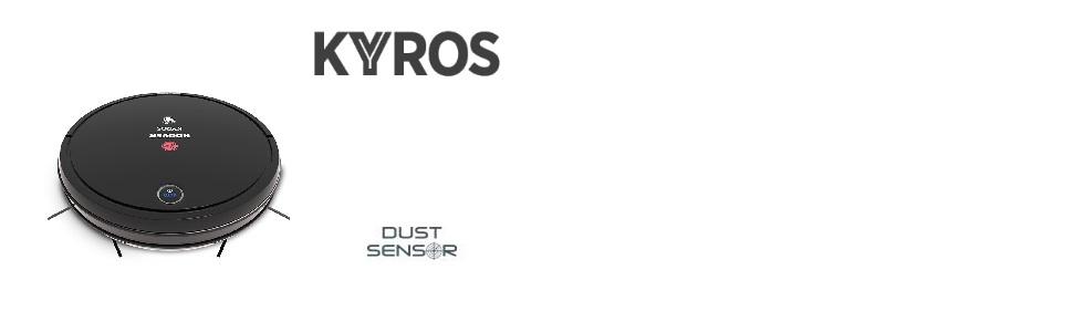 Aspirador Robot - Kyros - RBT001