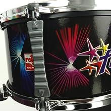 CLAUDIO REIG- Batería Flash con micrófono, ritmos y Luces (619 ...