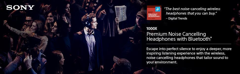 Amazon.com: Sony Premium Noise Cancelling, Bluetooth