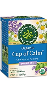 Traditional Medicinals Organic Cup of Calm Relaxation Tea
