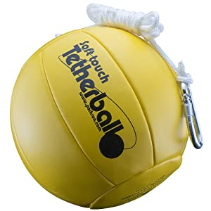 Ball, soft, durable, official, tetherball
