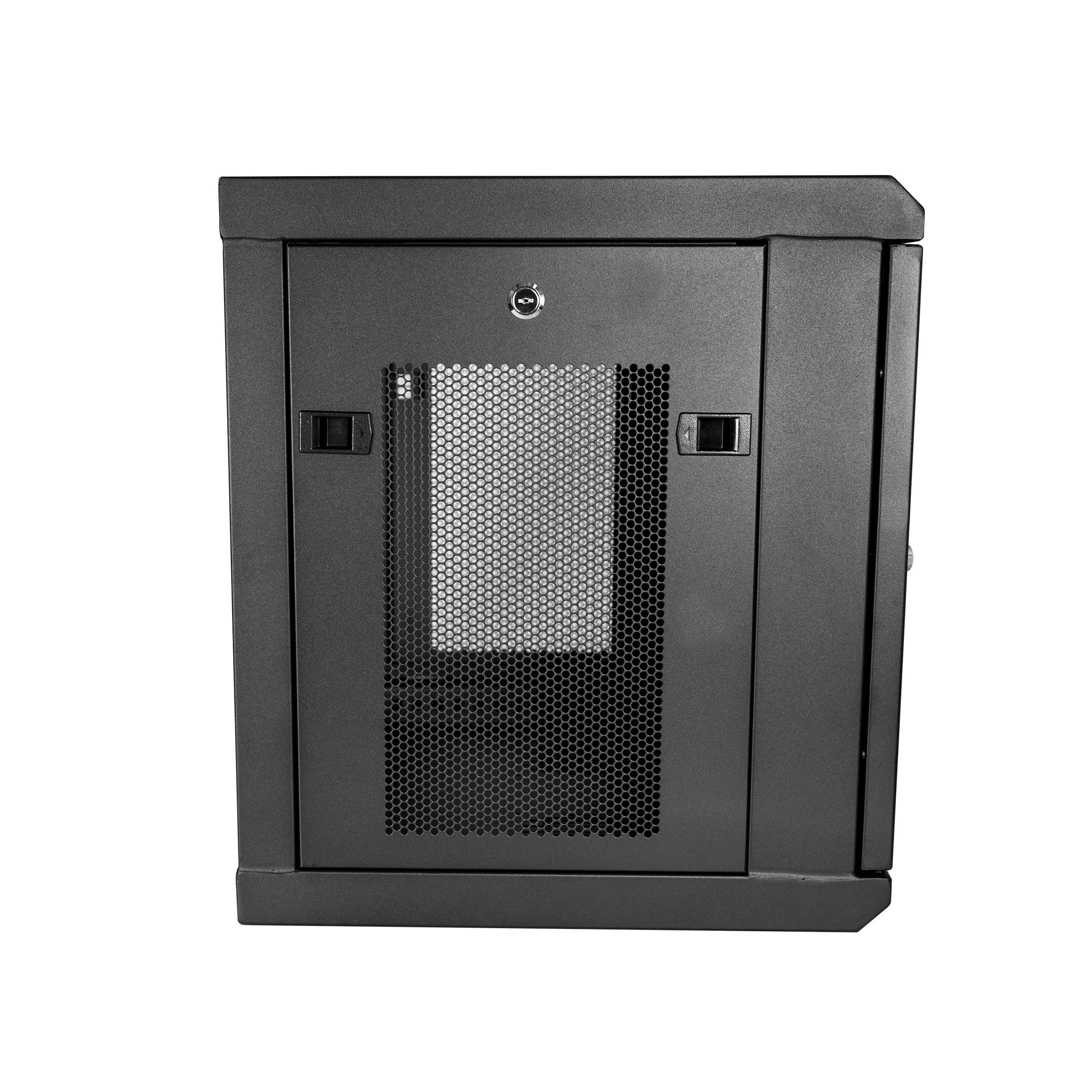 Startech Com Wall Mount Server Rack Cabinet 9u Rack 17