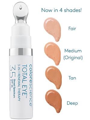 Total Eye, Colorescience, SPF, Eye Treatment