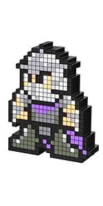 PDP Pixel Pals Teenage Mutant Ninja Turtles Shredder Collectible Lighted Figure