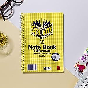 Spirax Note Books
