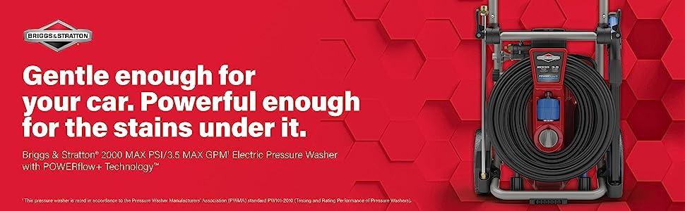 pressure washer; power washer; powerflow; psi; gpm; electric pressure washer; electric power washer