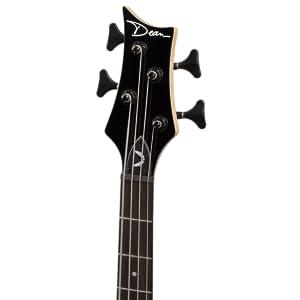 amazon com dean e09m edge mahogany electric bass guitar natural