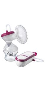 Electric, breast pump, tommee tippee
