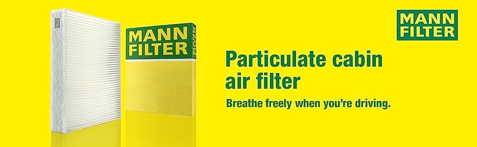 Innenraumluft MANN-FILTER CU 27 003 VOLVO 1 Filter