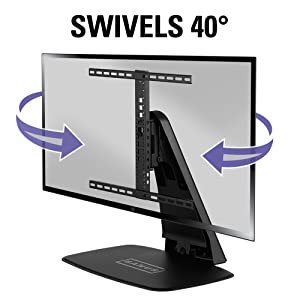 Fenge Vivo Fitueyes Swivel Replacement Stand Base Swivel Turn Height Adjust  Stable Tv Mount Tv