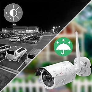 Indoor & Outdoor, Day Night Monitoring