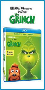 new grinch movie dvd release date