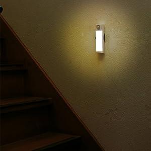 高儀 たかぎ センサーライト 屋内 led 懐中電灯 人感 階段 廊下