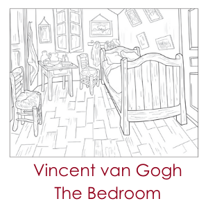 vincent van gogh: The bedroom