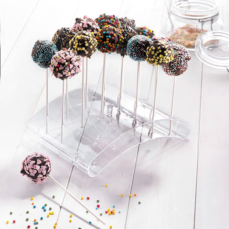 westmark cake pop backform f r 12 cake pops silikon antihaft effekt gr n 3024226g amazon. Black Bedroom Furniture Sets. Home Design Ideas