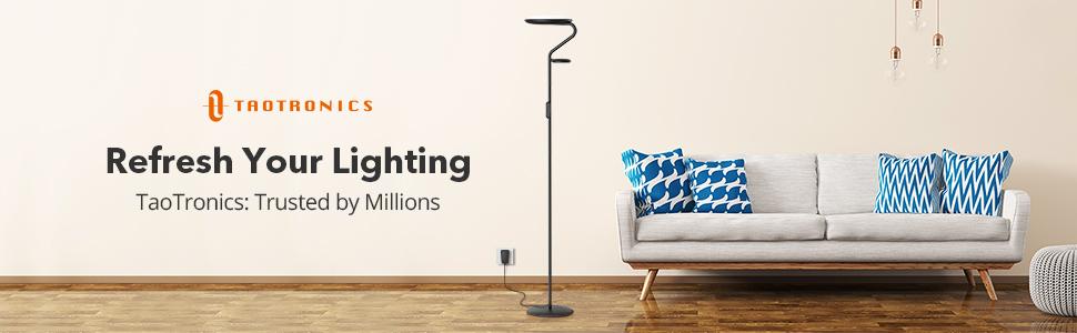 TaoTronics Floor Lamp