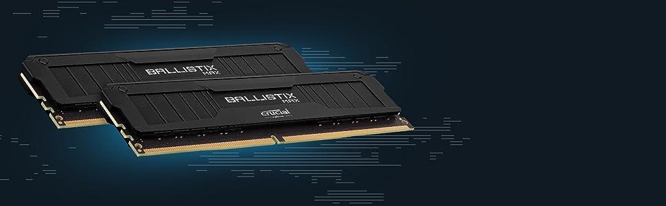 Amazon.com: Crucial Ballistix 3200 MHz DDR4 DRAM Desktop Gaming ...