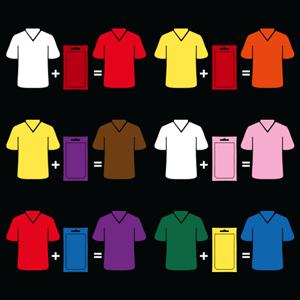 colour matrix, colour mixing, color