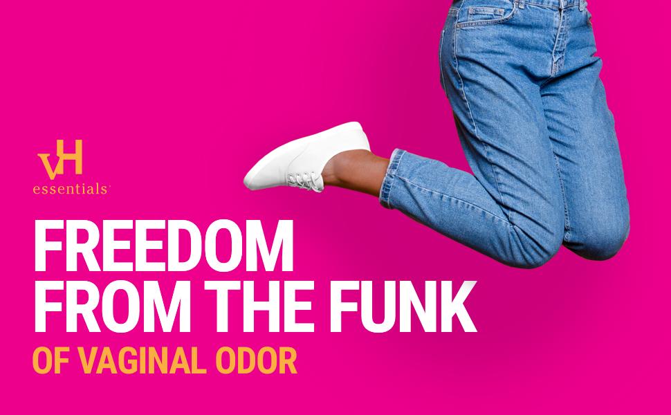 vH Essentials, Vaginal Odor, Feminine Odor, Freedom from the Funk