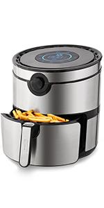 air, fryer, crisp, air, pro, 2QT, compact