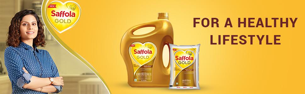 saffola,safola gold,cooking oil,edible oil;blended oil;refined oil,oil for cooking,oil for frying