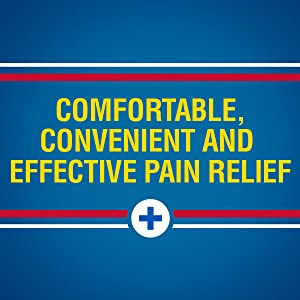 Sore muscle and joint pain relief.