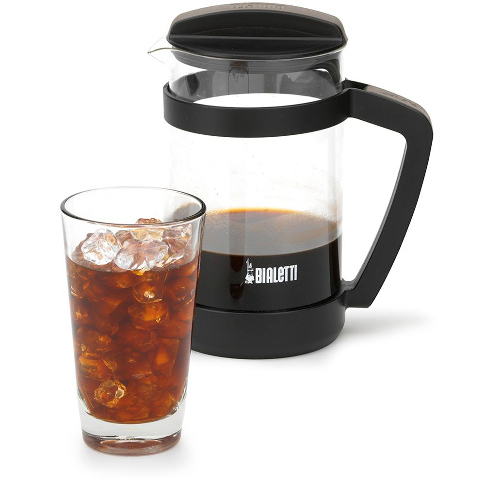 Cold Brew Coffee Maker Large : Amazon.com: Bialetti Cold Brew Coffee Maker 06765 - Glass Carafe & Stainless Steel Mesh Filter ...