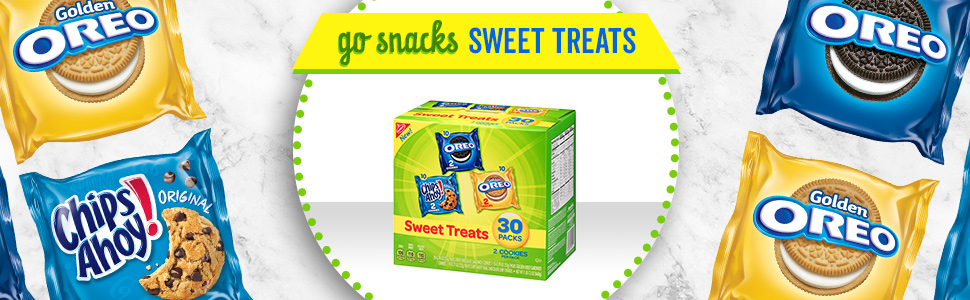Assorted Sweet Treat Cookie Snack Individual Wrapped Packs Crackers Nabisco Variety