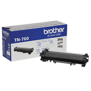 Brother TN-760 DCP-L2510 2530 L2550 HL-L2310 L2350 L2370 L2375 L2390 L2395 MFC-L2710 L2713 L2715 L2730 L2750 Toner Cartridge (Black) in Retail ...