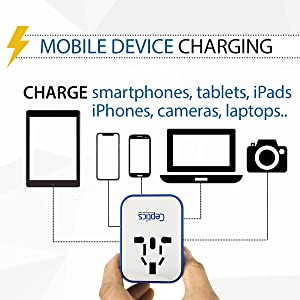 Charges all dual voltage device