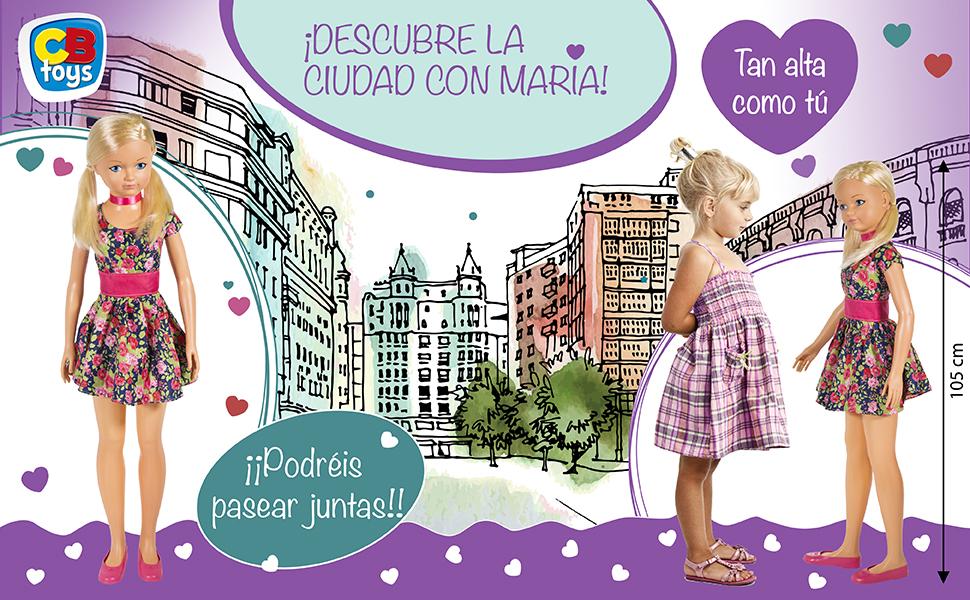Amazon.es: ColorBaby - Muñeca María CBtoys (44869): Juguetes y juegos