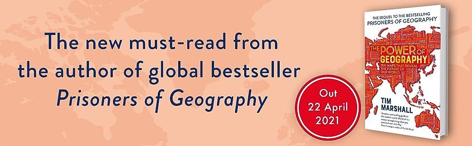 Prisoners of Geography, Tim Marshall, geopolitics, politics, geography, Power of Geography, world