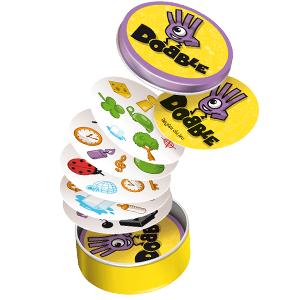 Dobble, Dobble Clásico, Asmodee, Juego de cartas, Fun Fast Games, Zygomatic