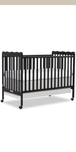 dream on me, cribs, full size, standard, 5 in 1 convertible, toddler bed, day bed, carson