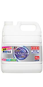 トップ スーパーNANOXニオイ専用 詰め替え用(業務用 大容量)4kg