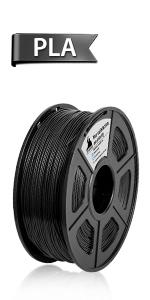 3D Warhorse PETG Filament Black,PETG Filament 1.75mm,PETG 3D ...