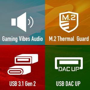 ultra durable, thermal guard, usb 3.1, usb dac