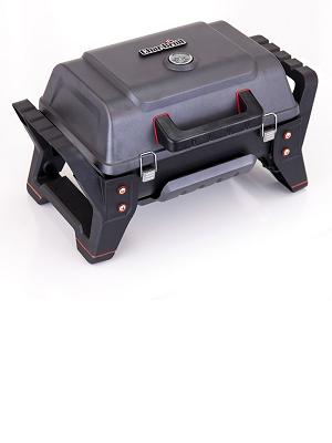 Char-Broil Grill2Go Parrilla Mesa propano/butano 2800W Negro, Rojo - Barbacoa (2800 W, Parrilla, propano/butano, 2800 W, Piezo, 440 x 280 mm)