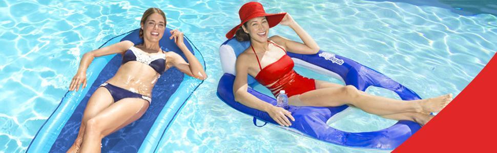 Amazon Com Swimways Original Spring Float Floating Swim