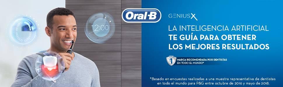 Oral-B Genius X 20000 Luxe Edition, Cepillo de Dientes Eléctrico ...