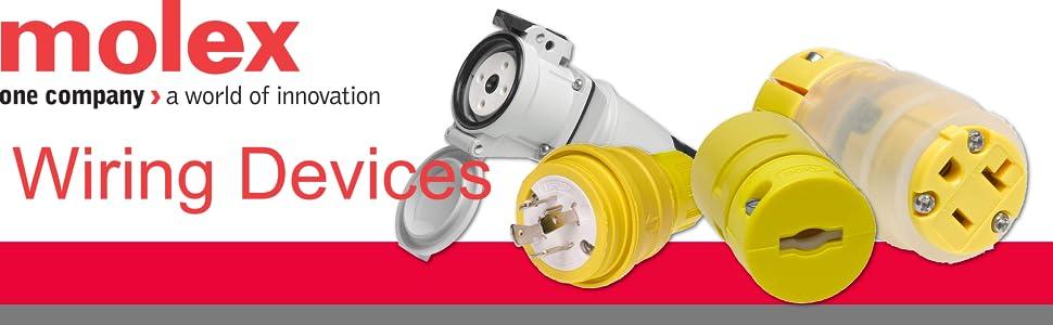 Woodhead 5266 Safeway Plug  Industrial Duty  Straight