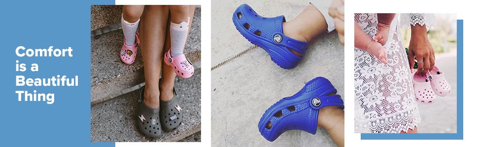 Comfort, Kids, classic, clog, cloggies, toddlers, baby, Crocs